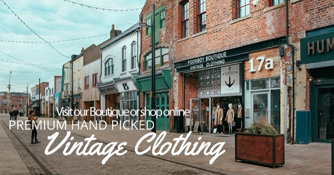 Poorboy Boutique Vintage Clothing